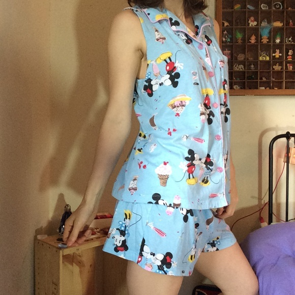 Disney Other - Summer Disney Pajamas Minnie Mickey Mouse